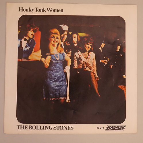THE ROLLING STONES / HONKY TONK WOMEN 69Org with P/S M/MINT