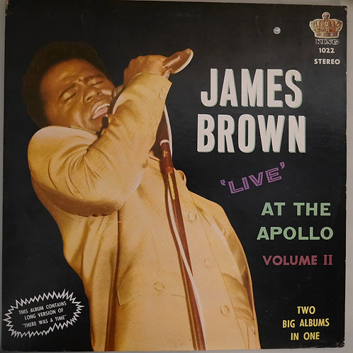 JAMES BROWN /LIVE AT THE APOLLO VOLUME II 68年オリジナル