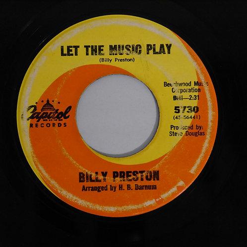 BILLY PRESTON /SUNNY  USオリジナル