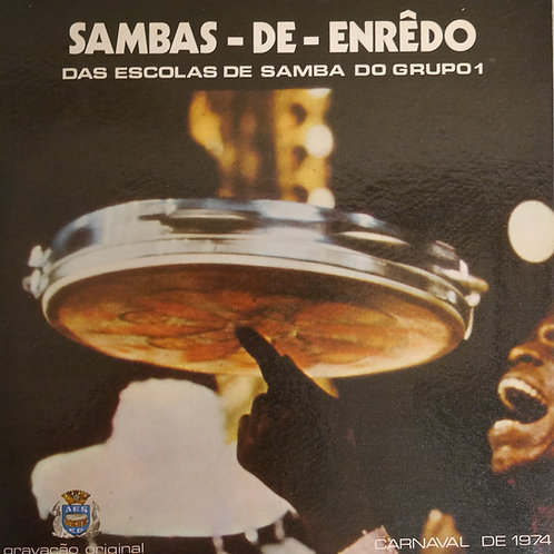 Sambas-De-Enrêdo Carnaval De 1974