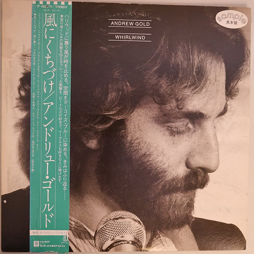 ANDREW GOLD / WHIRLWIND   邦題:風にくちづけ