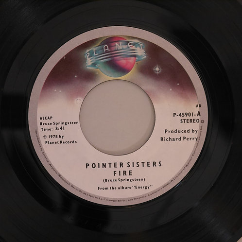 POINTER SISTERS / Fire / Love Is Like A Rolling Stone