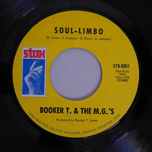 BOOKER T. & THE M. G.'s / Soul Limbo / Heads Or Tails