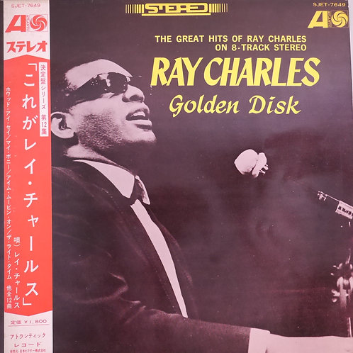 RAY CHARLES GOLDEN DISK 帯付き N/MINT