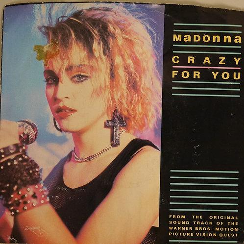 MADONNA /CRAZY FOR YOU
