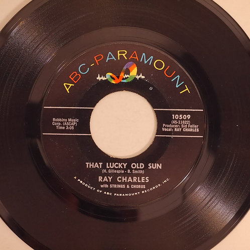 RAY CHARLES / That Lucky Old Sun /Ol' Man Time