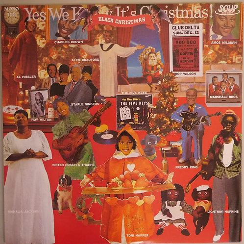 VA / Black Christmas  :ライトニング・ホプキンス.フレディ・キング.エイモス・ミルバーン.ロイ・ミルトン