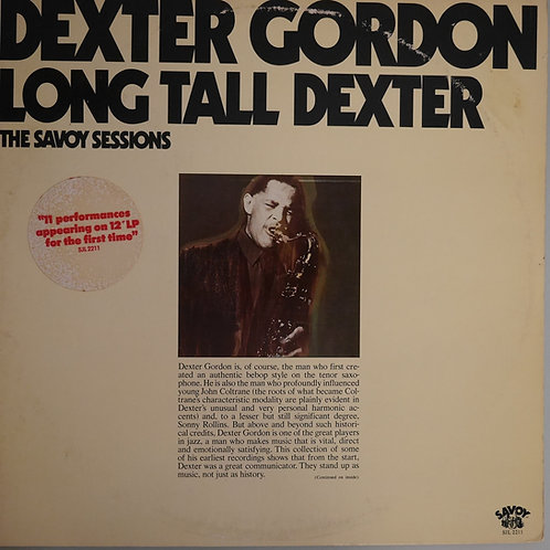 Dexter Gordon / Long Tall Dexter(白プロモ)