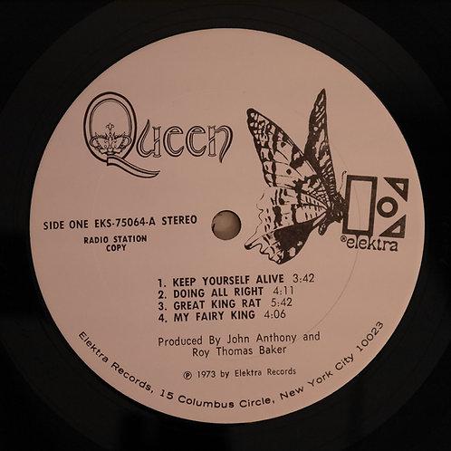 QUEEN / Queen (1st)  US:プロモ白ラベル