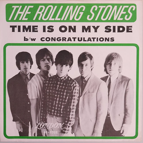 THE ROLLING STONES / Time Is On My Side / Congratulations