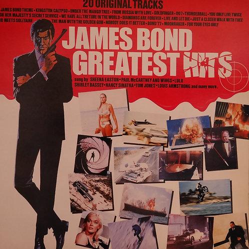 007ジェームズ・ボンド 20グレイテストヒット UK盤
