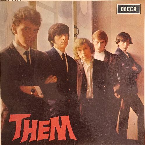 THEM / THEM (UK MONO 4-TRACK ,PSつき)