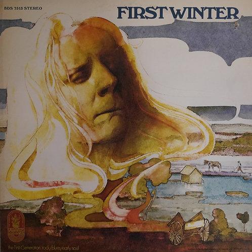 JOHNNY WINTER / FIRST WINTER(初期ミス・プリントラベル)