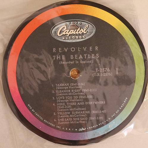 THE BEATLES / レコード再利用ラベルコースター