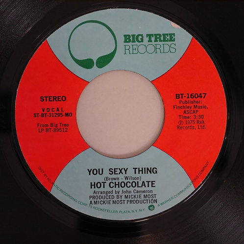 HOT CHOCOLATE / YOU SEXY THING