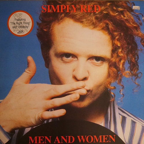 SIMPLY RED / Men And Women(wea)