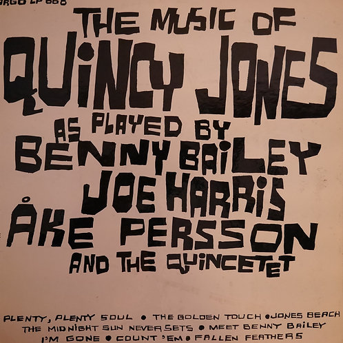Bailey Benny / The Music Of Quincy Jones/ Argo/ LP-668