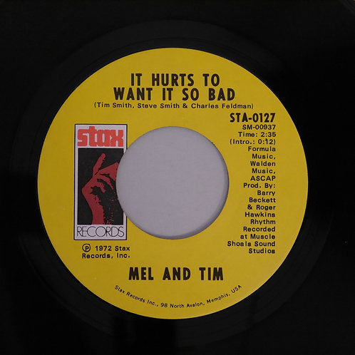 MEL AND TIM / IT HURTS TO WANT IT SO BAD/STARTING ALL OVER AGAIN
