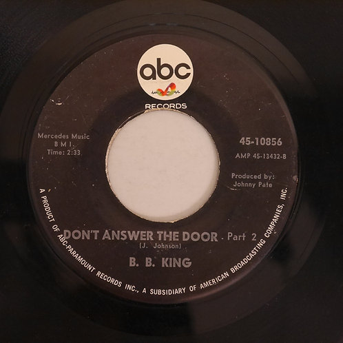 B.B.KING / Don't Answer The Door