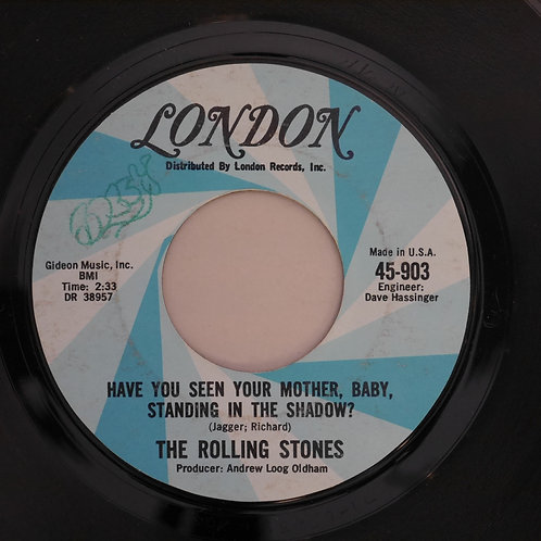 THE ROLLING STONES /Have You Seen Your Mother, Baby, Standing In The Shadow?