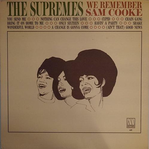 THE SUPREMES / We Remember Sam Cooke