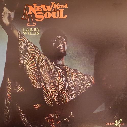 LARRY WILLIS / A NEW KIND OF SOUL