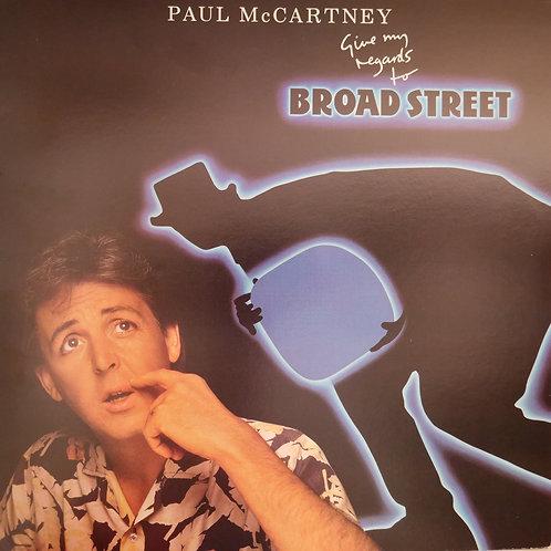 PAUL McCARTNEY /GIVE MY REGARDS TO BROAD