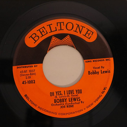 BOBBY LEWIS /TOSSIN' & TURNIN' / OH YES,I LOVE YOU