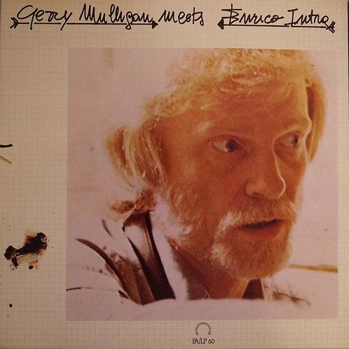 GERRY MULLIGAN / GERRY MULLIGAN MEETS ENRICO INTRA イタリア盤