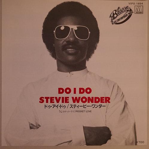 STEVIE WONDER  / スティーヴィー・ワンダー / DO I DO 7'