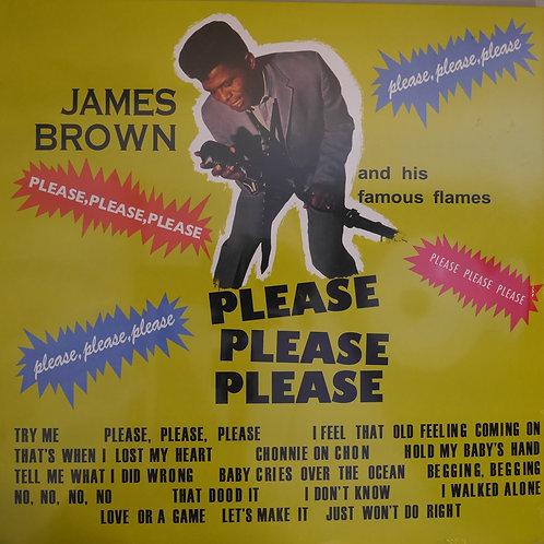 JAMES BROWN /PLEASE PLEASE PLEASE  リイシュードイツ盤