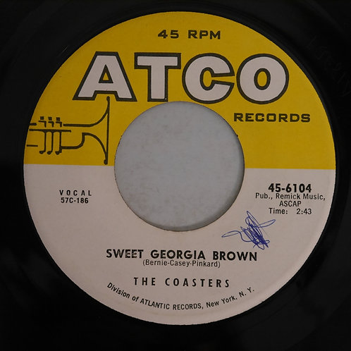COASTERS / Sweet Georgia Brown