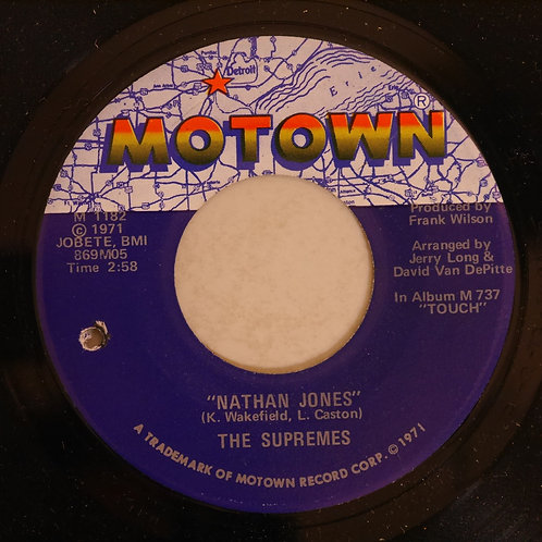 THE SUPREMES / Nathan Jones / Happy (Is A Bumpy Road)