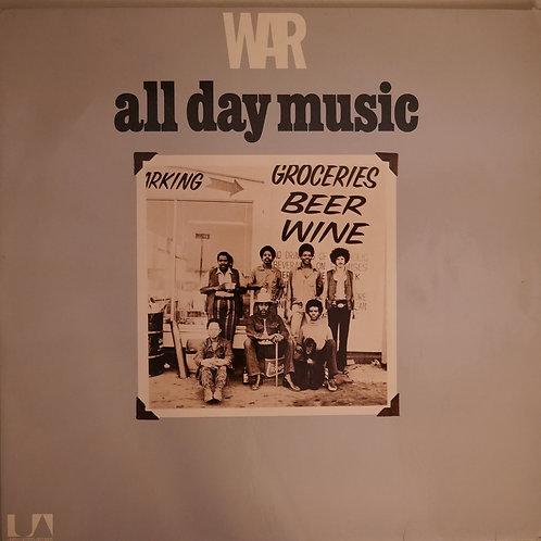 War / All Day Music  ドイツ盤