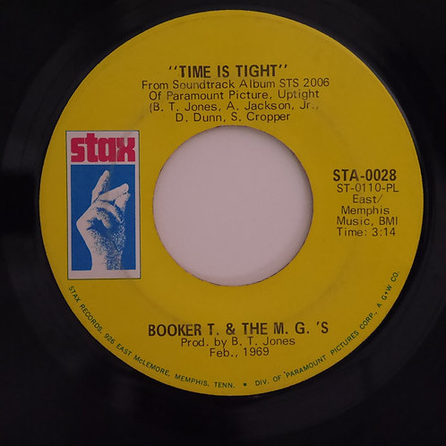 BOOKER T. & THE M.G.'S / Time Is Tight / Johnny I Love You