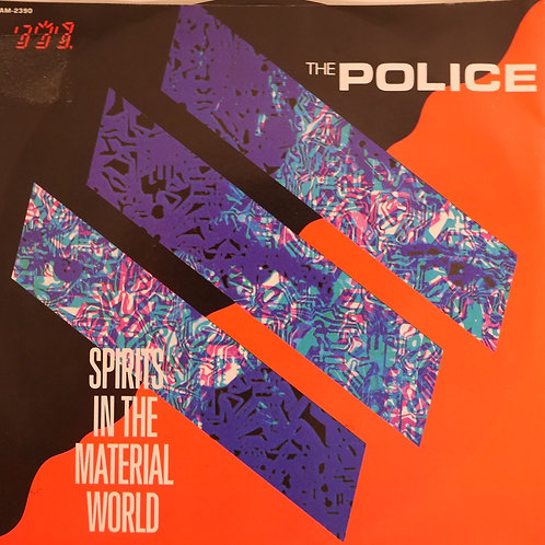 "THE POLICE / Spirits In The Material World(STERLING刻印7"")"