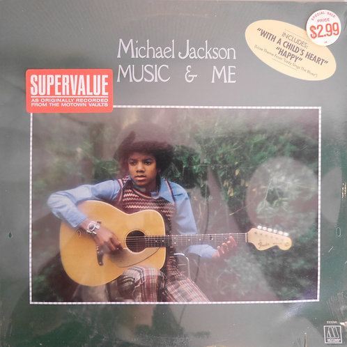 Michael Jackson / Music & Me(未開封)