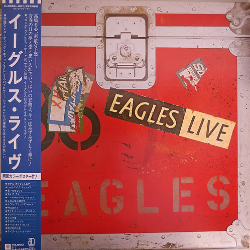 EAGLES LIVE ポスターつき美品。