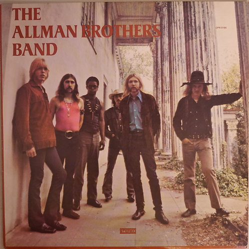 THE ALLMAN BROTHERS BAND / 1ST  (STERLING刻印)