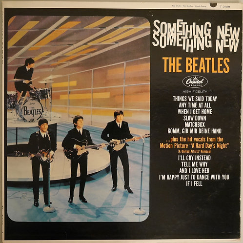 THE BEATLES  / SONETHING NEW (T2108 MONO 初期 LAプラントプレス)