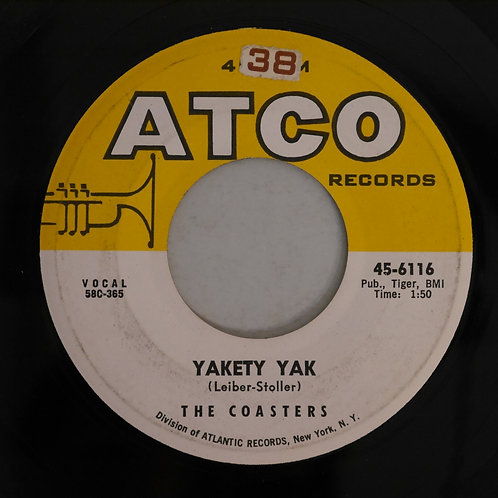 THE COASTERS / YAKETY YAK / ZING! WENT THE STRINGS OF MY HEART