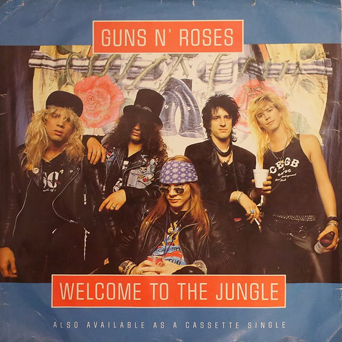 """Guns N' Roses / Welcome To The Jungle(7"""")"""