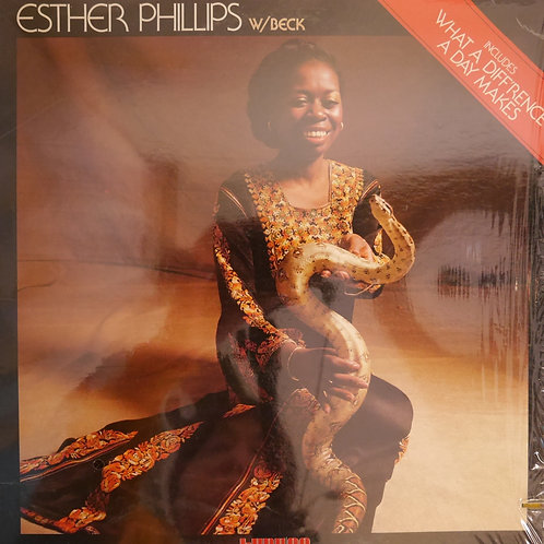 Esther Phillips w/ Beck / What A Diff'rence A Day Makes  USオリジナル   VAN GELDER刻印