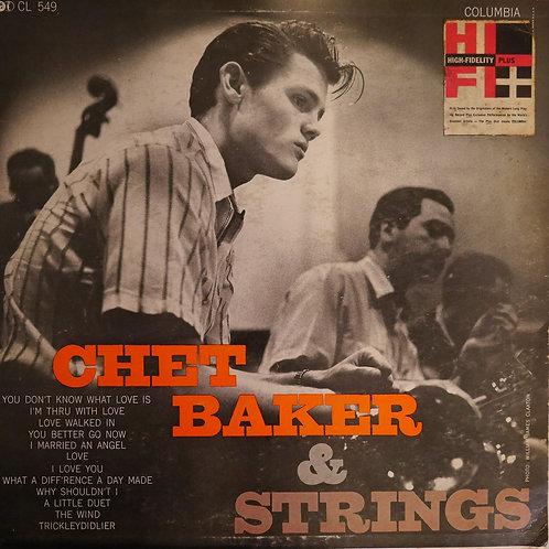 CHET BAKER / Chet Baker & Strings(初回マルーンラベル)
