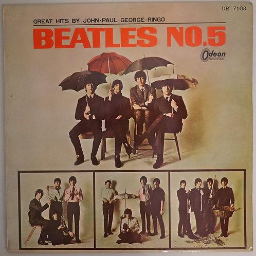 THE BEATLES / No.5 (赤盤)