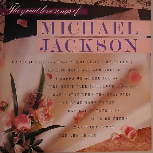 MICHAEL JACKSON / THE GREAT LOVE SONGS OF MICHAEL JACKSON   美盤