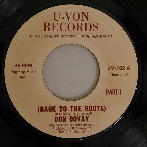 Don Covay / Back To The Roots
