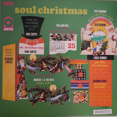OTIS REDDING, BOOKER T, WILLIAM BELL, CARLA THOMAS / SOUL CHRISTMAS