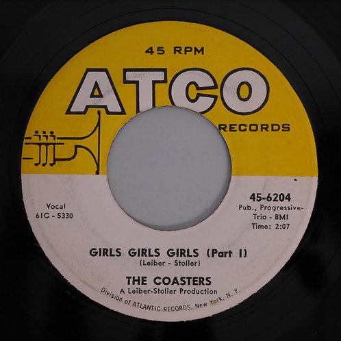 THE COASTERS / GIRLS GIRLS GIRLS(P1&2)