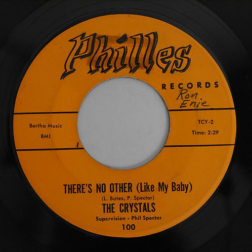 CRYSTALS  /THERE'S NO OTHER LIKE MY BABY / OH YEAH, MAYBE BABY(初期プレス)